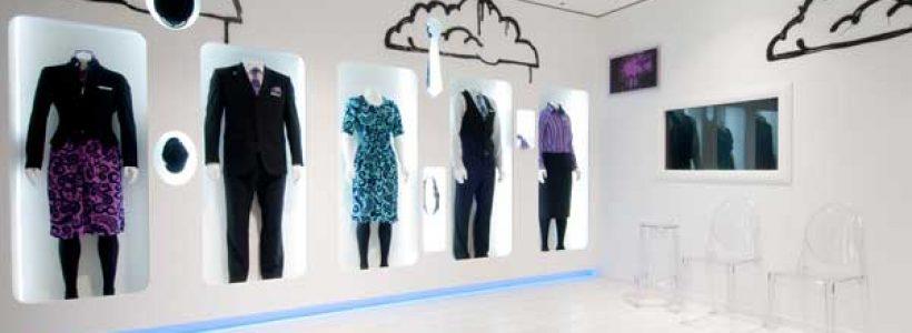 CLOTHES HANGAR: il nuovo store di Air New Zealand.