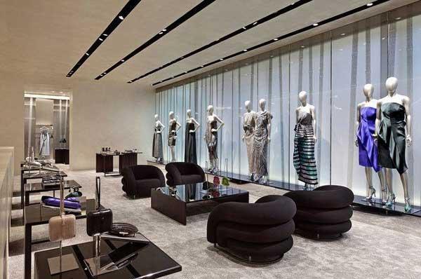 Giorgio armani new york an arredamento negozi retail for Arredamento armani