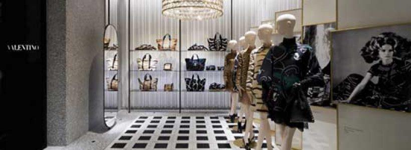 VALENTINO presenta il nuovo concept retail firmato da David Chipperfield.
