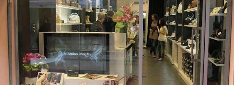 Monomarca ANDREA MORELLI a Reggio Emilia.