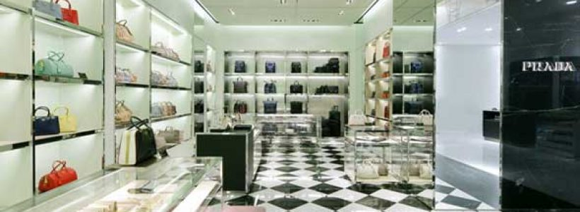 Nuova boutique PRADA a Nagoya.