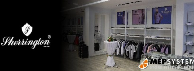 MEPSYSTEM presenta Sherrington, l'ultima realizzazione nell'ambito dei negozi di abbigliamento in Tunisia.