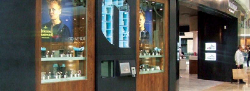 Installato a Londra il primo distributore automatico per la vendita di orologi e gioielli.