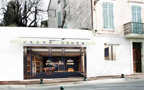 boutique Jacob Cohen Saint Tropez