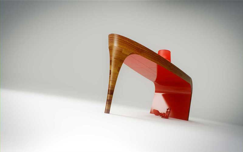 STILETTO TABLE DESIGN SPLINTER WORKS