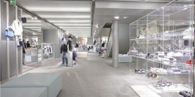ARMANI JUNIOR apre 34 nuovi negozi in tutto il mondo.