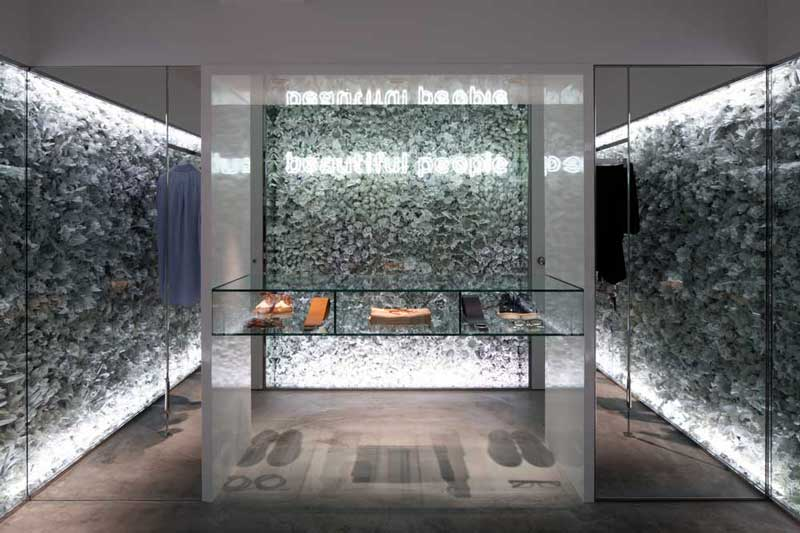 BEAUTIFUL PEOPLE concept store Tokyo