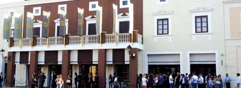 GUCCI apre al Sicilia Outlet Village.