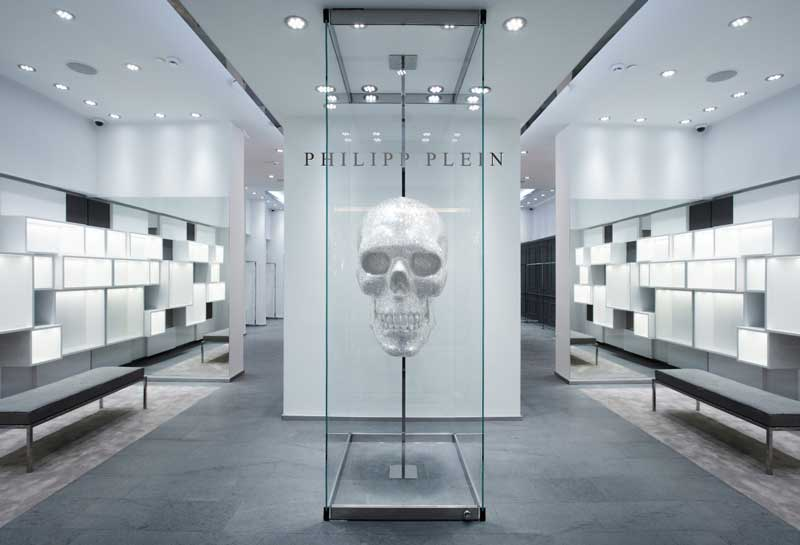 newest collection 65cb1 0e6c3 PHILIPP PLEIN: secondo negozio a Mosca. | AN Shopfitting ...