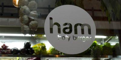HAM (BURGER), un cerchio, una figura perfetta.