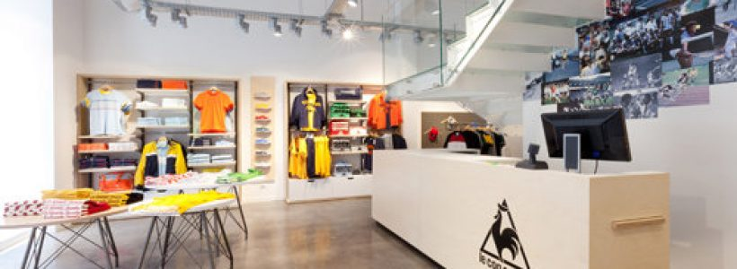LE COQ SPORTIF apre un flagship store a Milano.