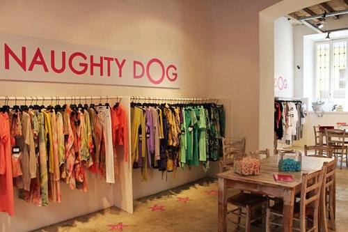 NAUGHTY DOG Milano temporary showroom