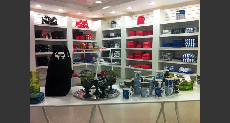 Temporary store Marimekko