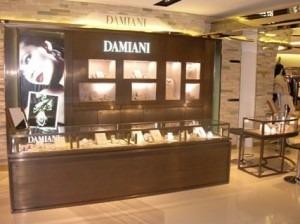 damiani harvey nichols pacific place hong kong