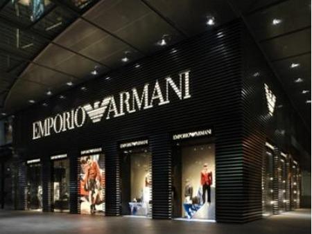 Emporio armani new york an arredamento negozi retail for Armani store nyc