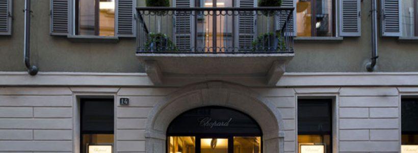 CHOPARD triplica i propri spazi in Via della Spiga e punta sull'Italia