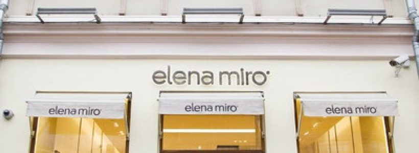 ELENA MIRO': nuovo flagship store a Mosca.