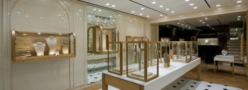 BOUCHERON opens new store concept in Hong Kong.