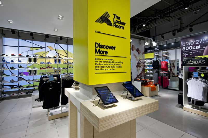 FOOT LOCKER concept store Europa