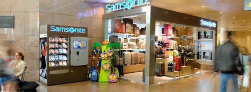 SAMSONITE lancia il retail dinamico.
