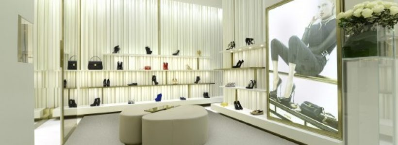New store opening in Via Montenapoleone for Giuseppe Zanotti Design