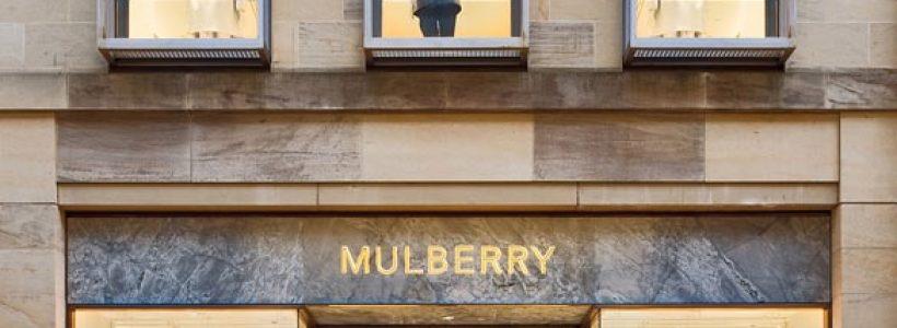 Mulberry's New Edinburgh Store