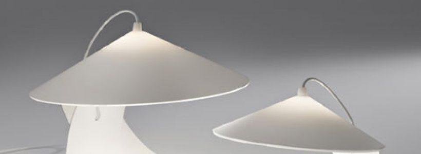 La lampada da tavolo Hanoi di PRANDINA premiata al GrandesignEtico 2012.