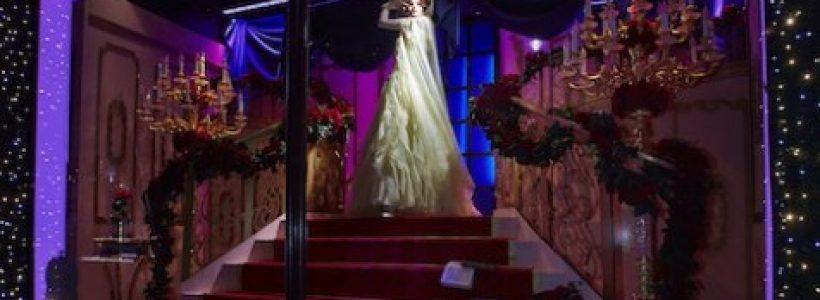 Londra Natale 2012: le vetrine di HARRODS dedicate alle Principesse Disney