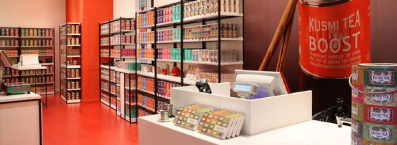 KUSMI TEA: a Milano la prima boutique monomarca.