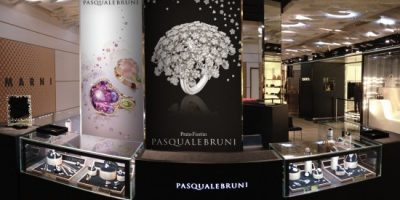 PASQUALE BRUNI, pop-up  alle Galeries Lafayette.