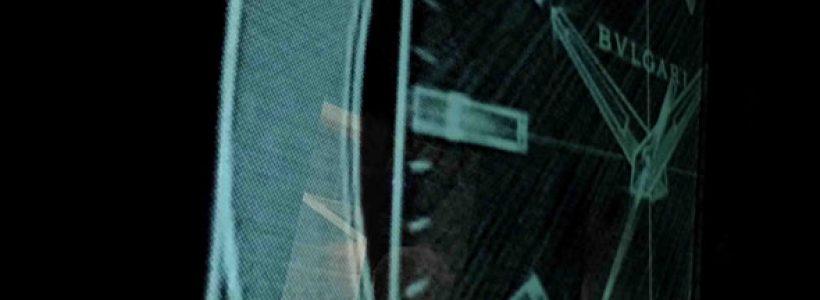 MARCO PIVA Signes The Bulgari window at Basel.