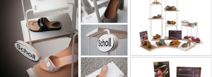 VISUAL DISPLAY crea il concept di visual merchandising SCHOLL.