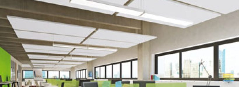 OPTIMA L CANOPY – La soluzione di ARMSTRONG BUILDING PRODUCTS  per vivere gli open space in armonia