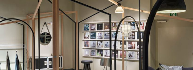 DIESEL HOME COLLECTION Installation Project – Lines by Chikara Ohno / Sinato.