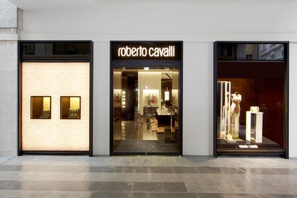 ROBERTO CAVALLI flagship store Vienna