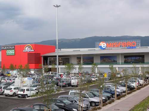 centro commerciale Emisfero Bassano del Grappa