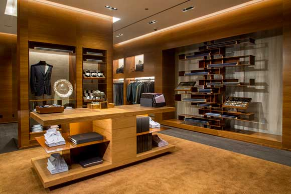 An arredamento negozi zegna chicago an shopfitting magazine for Catene negozi arredamento