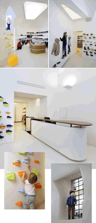 negozio Davide Cenci Junior Roma