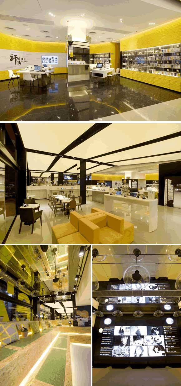 ONE2FREE MEGASTORE interior designer Clifton Leung