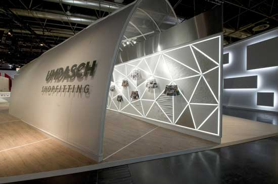 Exhibition Stand Lighting Nz : Inspiration en masse umdasch shopfitting fair stand at
