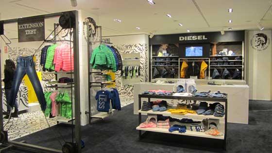 Diesel clothing store
