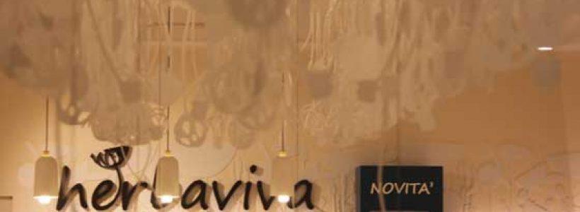 HERBAVIVA concept store. iarchitects firma il restyling della catena di erboristerie tutta italiana.