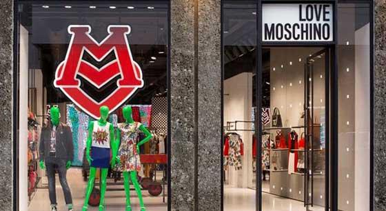 Love moschino an arredamento negozi retail design news for Love design milano