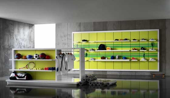 Crc sportswear 01 an shopfitting magazine for Arreda negozi shop