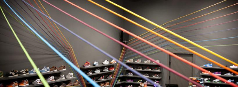 RUN COLORS Sneaker Shop, Poznań.