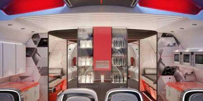 L'aereo del futuro secondo NIKE.