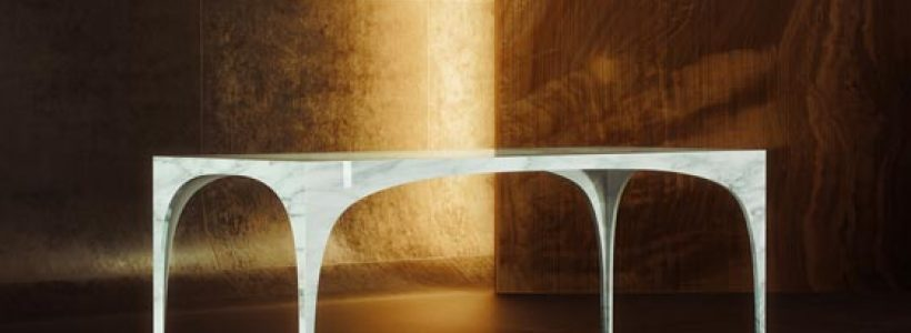 CONCAVO CONVESSO Marble Collection design Iosa Ghini