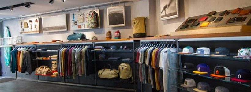 Checkland Kindleysides created a new concept store for Nixon.
