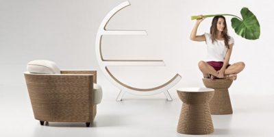 STAYGREEN presenta la nuova collezione di arredi di design in cartone colorato.