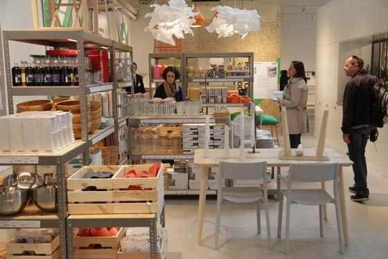 Ikea temporary milano an shopfitting magazine for Catene negozi arredamento